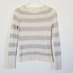 Equipment | 100% Cashmere Striped Sweater Sz.S
